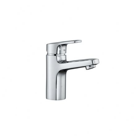 311951 - Laufen City Pro Single Lever Basin Mixer Tap with 110mm Spout - 3.1195.1
